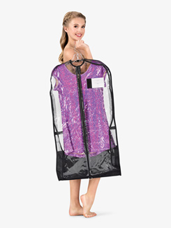 Garment Bag with Privacy Pockets