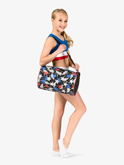 Tri-Color Star Dance Duffel Bag