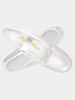 Gold/Silver Ballet Shoes for Small Children