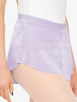 Girls Asymmetrical Hem Pull-On Ballet Skirt