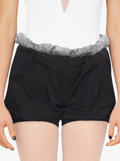 Womens Reversible Parachute Warm Up Shorts
