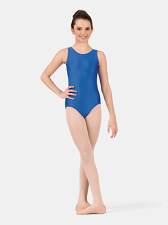 Girls Tank Nylon Leotard