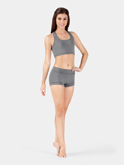 Womens Compression Banded Short