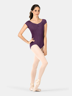 Adult Princess Seam Cap Sleeve Leotard