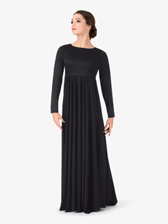 Womens Flowy Worship Dress