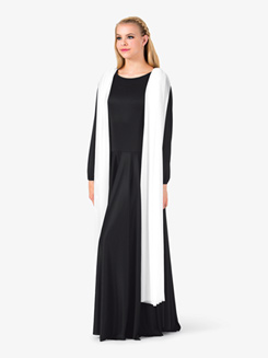 Womens Long Sleeve Worship Dress