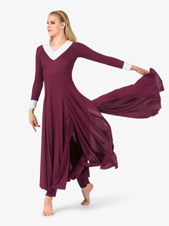 Womens Flowy Worship Jumpsuit