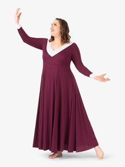 Womens Flowy Plus Size Worship Jumpsuit