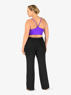 Womens Plus Size SilkTech Team Bootcut Jazz Pants