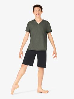 Boys French Terry Dance Shorts