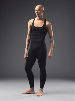 Mens Dance Tank Full-Length Unitard