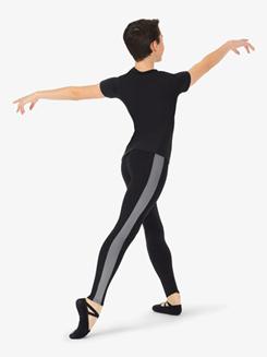 Boys Contrast Stripe Dance Leggings