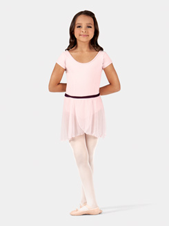 Child Two-Tone Wrap Dance Skirt