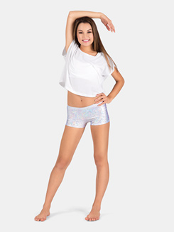 Adult Printed Dance Shorts