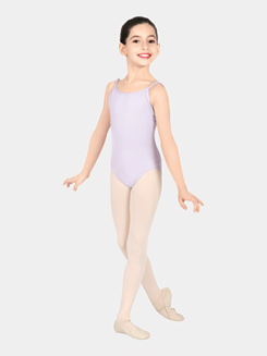 Girls V-Back Camisole Dance Leotard