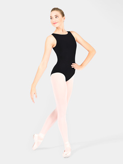 Adult High Neck Tank Dance Leotard