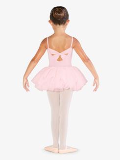 Girls Embroidered Camisole Ballet Tutu Dress