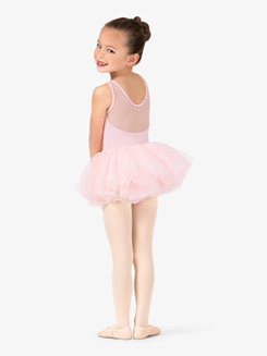 Girls Studded Tank Ballet Tutu Dress