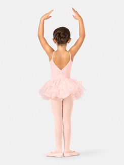 Child Heart Bodice Camisole Tutu Dress