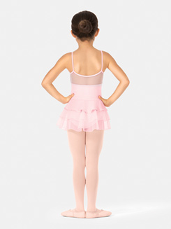 Girls Tiered Camisole Ballet Dress