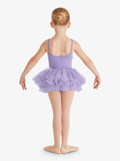 Girls Camisole Bow Front Ballet Tutu Dress