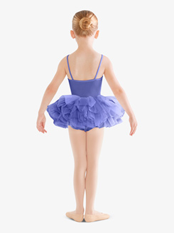Girls Eyelet Camisole Ballet Tutu Dress