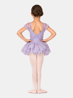 Child Embroidered Mesh Tutu