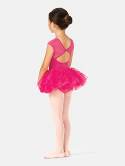 Girls Paneled Ballet Tutu Skirt
