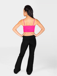 Adult Roll Waist Boot Cut Pants