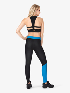 Adult Sublimated Dance Team 2-Tone Legging Pants
