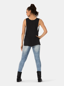 Adult Asymmetrical Wide Arm Tank Top