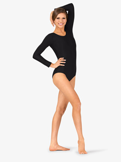Adult Scoop Neck Long Sleeve Dance Leotard