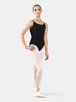 Adult Bolshoi Stars Collection Mesh Insert Camisole Leotard