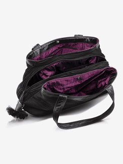 Leather & Microfiber Dance Bag