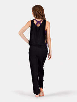 Adult Long Tank Dance Romper