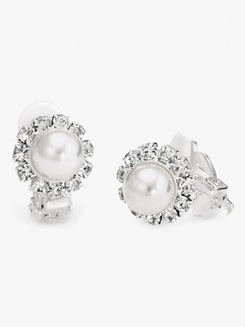 10mm Pearl Clip On Earrings