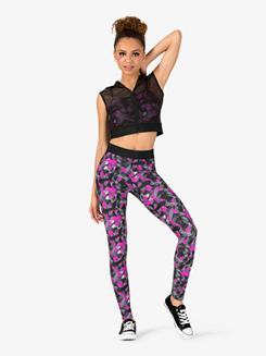 Womens Electric Funk 3-Piece Hip Hop Set