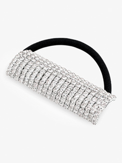 Flexible Rhinestone Ponytail Hair Tie