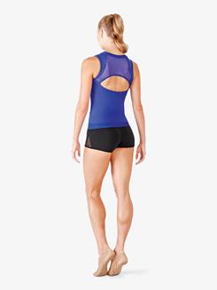 Ladies Adelia Mesh Insert Dance Shorts