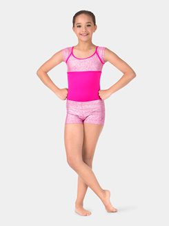 Child Mosaic Dance Shorts