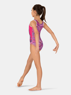 Child Tank Sound Wave Leotard