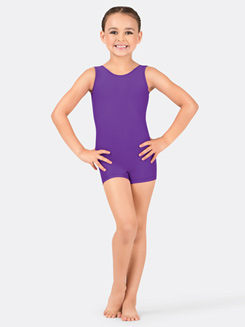Child Basic Tank Shorty Unitard