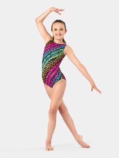 737852d0c450f Perfect Balance Girls Gymnastics Fish Scale Tank Leotard Item  G692C