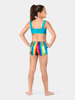 Girls Pixel Pop Insert Shorts