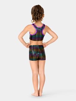 Child Matrix Tracer Shorts