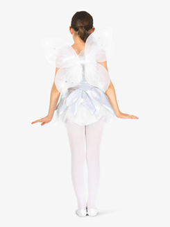 Girls Angel Character Costume Tank Tutu Dress Set