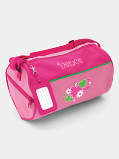 Flowers and Hearts Dance Duffle Bag
