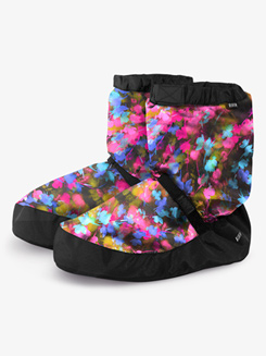 Womens Printed Dance Warm-Up Booties