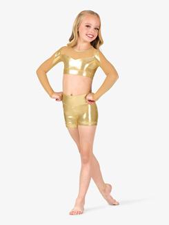 5e33a24fd3f3c Under Armour Girls Graphic Print Waistband Fitness Leggings
