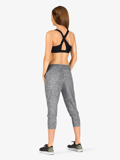 Womens Cropped Workout Pants